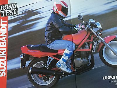 Suzuki Gsf400 Bandit - Original 5 Page Motorcycle Article / Road Test
