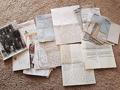 WWII Letters and ephemera