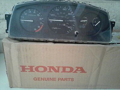 1994 Honda Civic SI Cluster 5spd manual with tach and ABS     RARE  USDM JDM