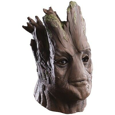 Groot Costume Mask Adult Full Overhead Guardians of The Galaxy Fancy Dress