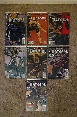 Batgirl Reborn 1-7 NM-VF lot of 7 DC comics