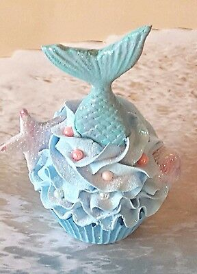 Mermaids Tail Fake Cupcake, Photo Props and Birthday Party Decorations