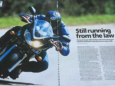 Suzuki Gsf1200S Bandit - Original 5 Page Motorcycle Used Bike Road Test