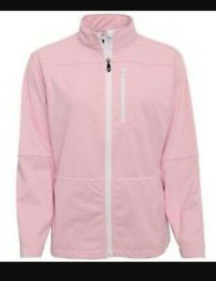 Footjoy Ladies/womens softshell jacket pink