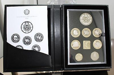 2016 - Royal Mint Uk Proof Coin Set - Commemorative Edition