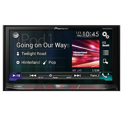 "Pioneer AVH-4200NEX In Dash Double Din 7"" DVD Receiver w/ Bluetooth AVH4200NEX"