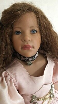 Melisaude Eder Is A Limited Edition Vinyl Doll By The Artist Marianne Eder.