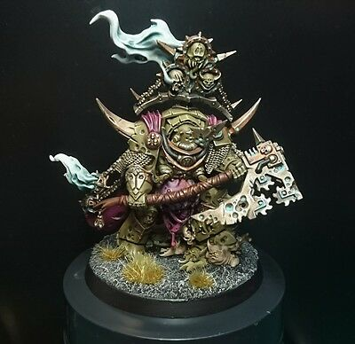 Warhammer 40K 40,000 Painted Nurgle Death Guard Lord Of Contagion Dark Imperium