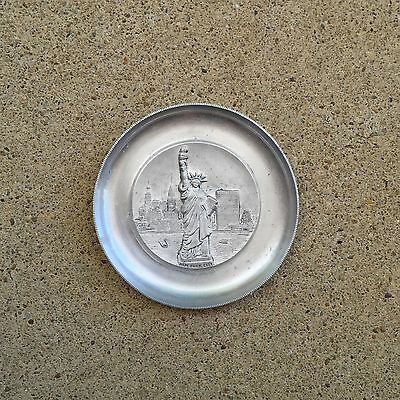 Vintage Statue of LIBERTY NYC Souvenir Ashtray by ALPHA Switzerland