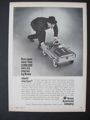 1967 Arrow Armatures Rebuilt Starters Peddle Cars Gas Station Ad Print Page