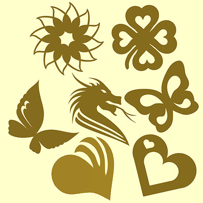 7 Great Body Tanning Stickers Templates Design