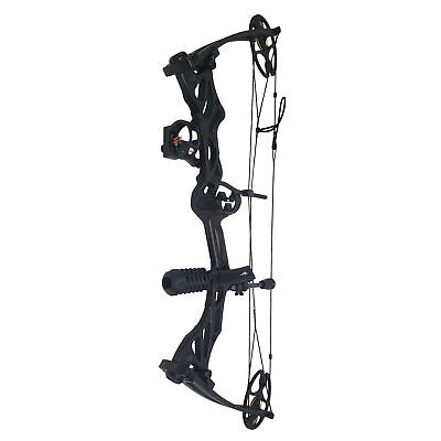SAS Rage 70LBS Compound Bow Package with Bow Sight Arrow Rest Stabilizer Sling