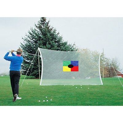 Golf Practice Training Driving Training Net Chipping Hitting Outdoor New Mat Aid
