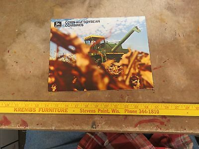 John Deere 1969 Introduction Corn & Soybean Combines Brochure
