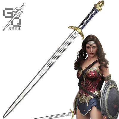 Superhero Wonder Woman Diana Cosplay Sword PV 95cm Halloween Cosplay Weapon