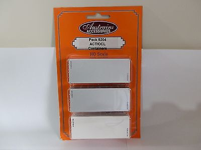 Austrains ACT/OCL Container triple pack #9204