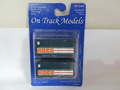 Ontrack Models RACE PTC GC Containers Twin Pack
