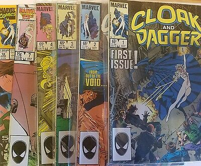 Cloak and Dagger Marvel Comic Book lot #1 #2 #3 #4 More! spider-man x-men hulk