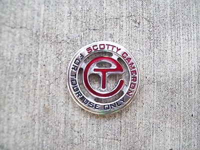 Scotty Cameron GALLERY Circle T Ball Marker - NEW