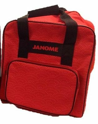 Janome Overlocker Carry Bag – Red – Carry Case