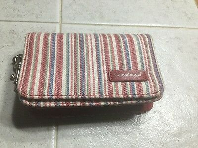 Longaberger Homestead Small Wallet/Coin Purse