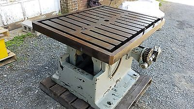 Kingsbury T Slotted Rotary Table With Hydraulic Drive