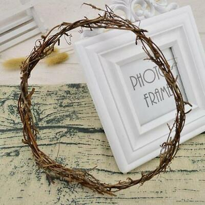 "New Vine Wreath 8"" Hoop - Wholesale Feathers & Craft Supplies"
