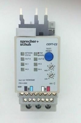 Sprecher+Schuh CEP7-C2-23-25 Solid State Overload Relay Motor Protection 5-25A