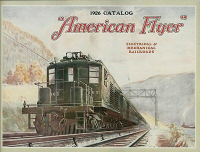 1976 Reprint of The 1926 American Flyer Trains Catalog - Great Condition