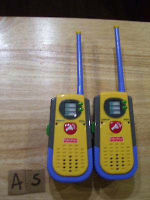 2001 Fisher Price Walkie Talkies