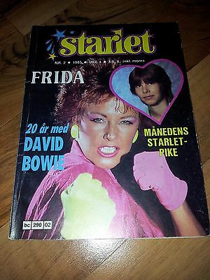 Starlet No, 2 1985 Frida (ABBA) David Bowie