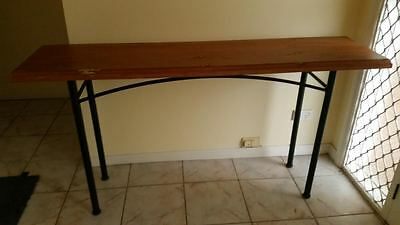 Sofa / Hall Table - With Reclaimed Antique Timber Top