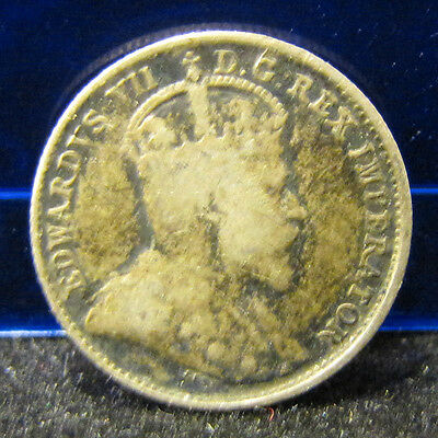 1903-H 5C Large H Canada 5 Cents