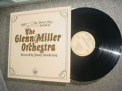 LP Record Direct to Disc limited The Glenn Miller Orchestra Jimmy Henderson