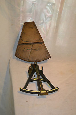 c1800-1840 Spencer, Browning & Rust of London Octant Nautical Ship Sextant