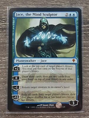 Jace the mind sculptor worldwake x1 NM MTG