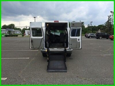 2001 Ford E-Series Van Commercial VAN WHEELCHAIR HANDICAP HIGH TOP POWER LIFT 2001 Commercial Used 4.2L V6