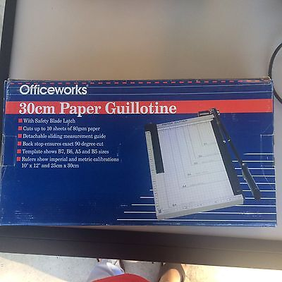 30 Centimeters Paper Guillotine Officeworks