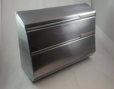 Vintage Lincoln Beautyware Chrome Kitchen Paper Dispenser