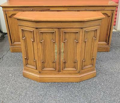 Mid Century TOMLINSON PAVANE Console Table / Cabinet ~ HOLLYWOOD REGENCY