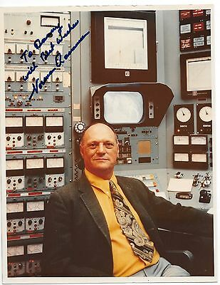 Norman Rasmussen Nuclear Physicist Signed Autographed 8X10 Color Photo
