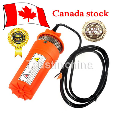 24V DC Solar Powered Deep Submersible Water Well Pump 230ft Farm Ranch Household