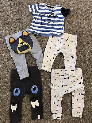 Cotton On Kids Baby Boy T-Shirt And Leggings Size 00
