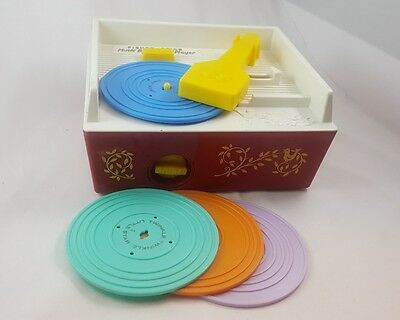 Fisher Price Music Box Record Player 2010