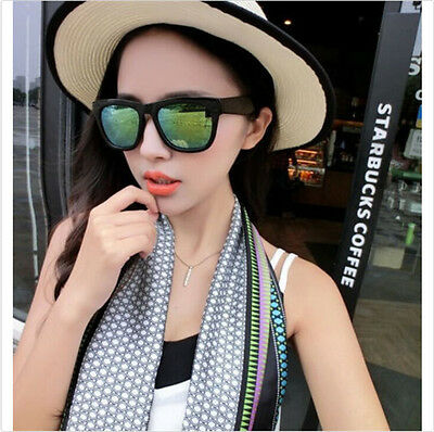 Women Men Vintage Retro Glasses Unisex Fashion Aviator Mirror Lens Sunglasses@1