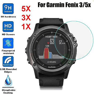 Ultra Clear HD LCD Screen Protector Protection Film Cover For Garmin Fenix 5X/3