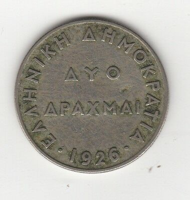 1926 Greece 2 Drachmai