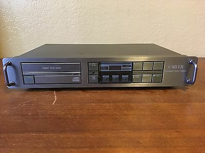 Carver DTL-100 Digital Time Lens Compact Disc Player Vintage