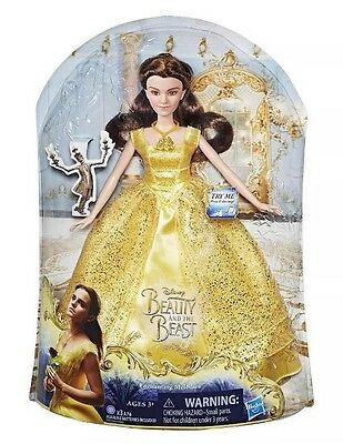 Disney Beauty and the Beast Enchanting Melodies Belle Doll ,Brand new Boxed