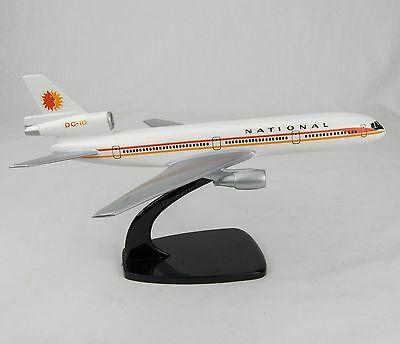 Vintage National Air Dc-10 1:200 Scale Model (On Stand) Made By Air Jet Advance